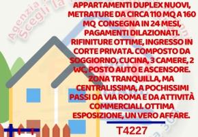 T4227 Aversa Centro - App.ti duplex di circa 110 mq